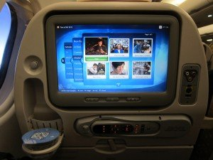 Movie Time on the Long Haul Flight