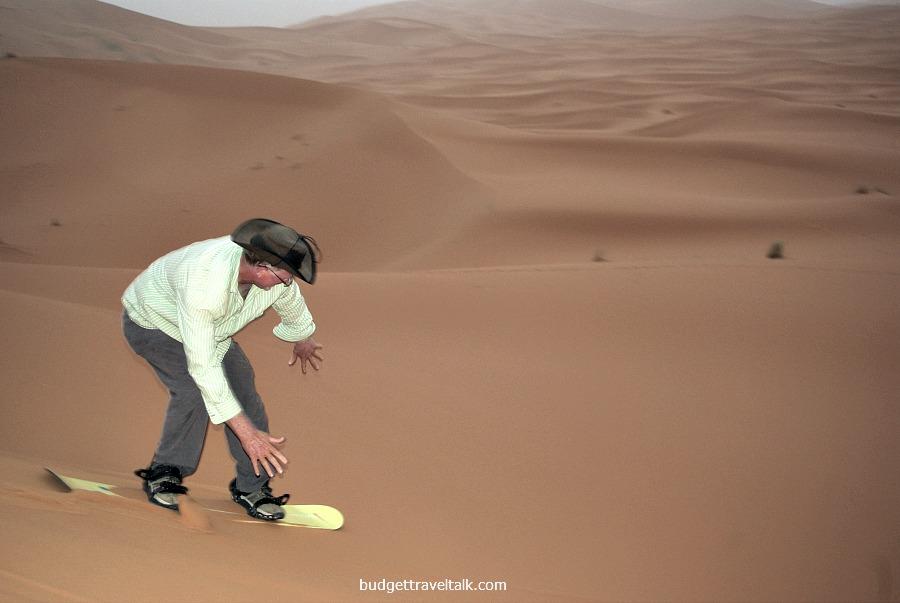 Sahara Sandboarding