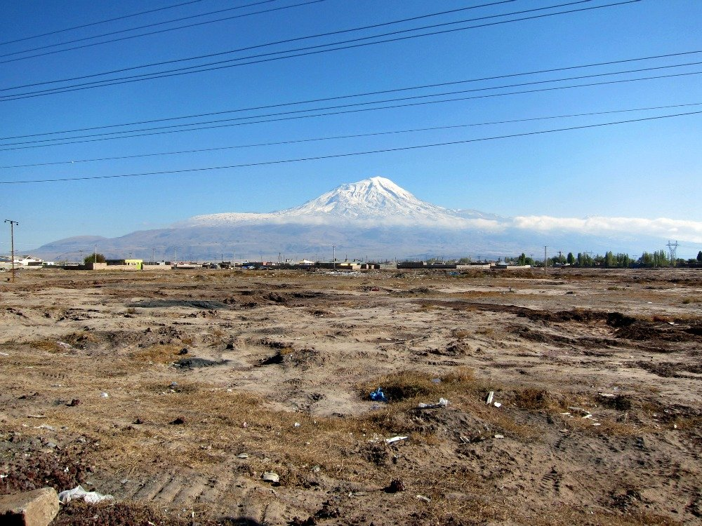 Ararat lines and rubbish