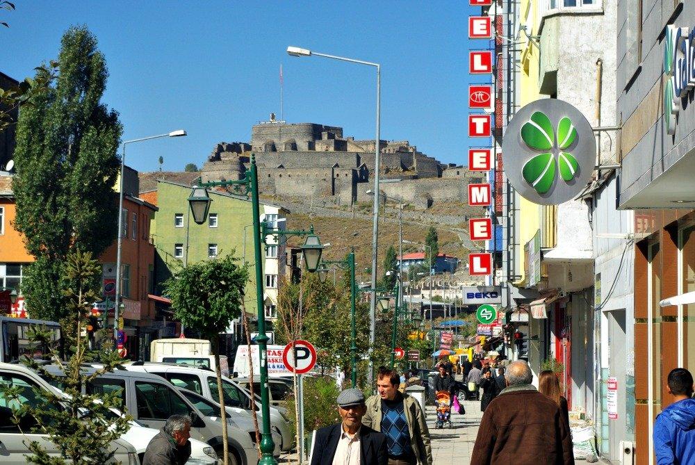 Kars Castle and Street Life