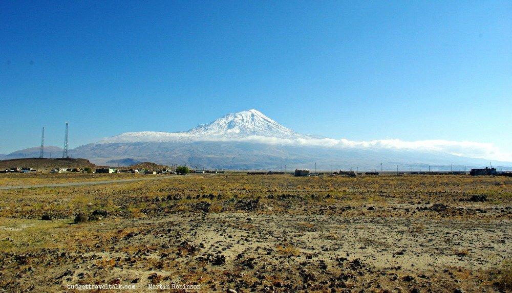 Mt. Ararat in Eastern Turkey