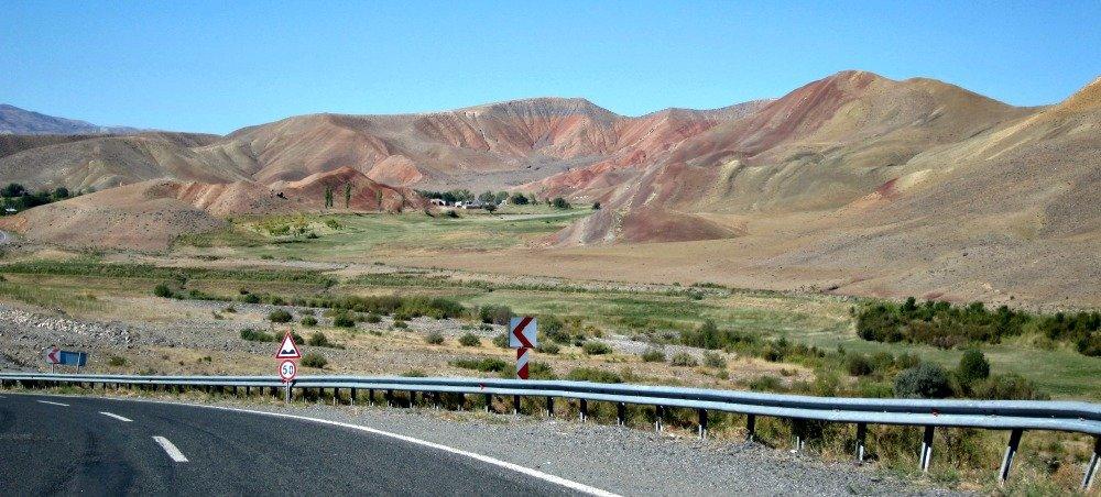 Pink Hills of Eastern Turkey