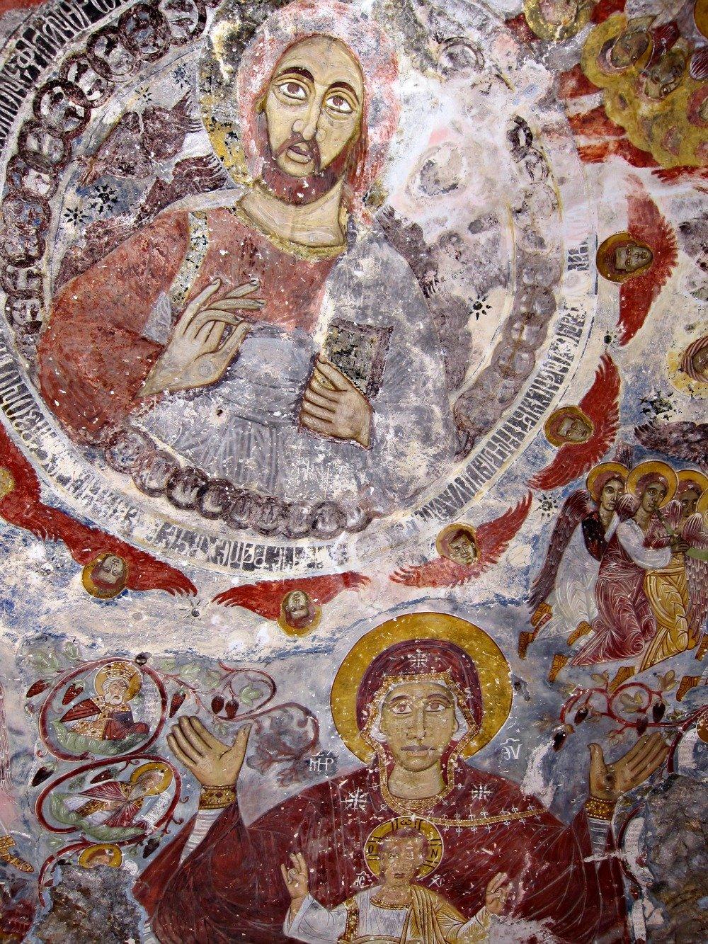 Fresco at Sumela Monastery