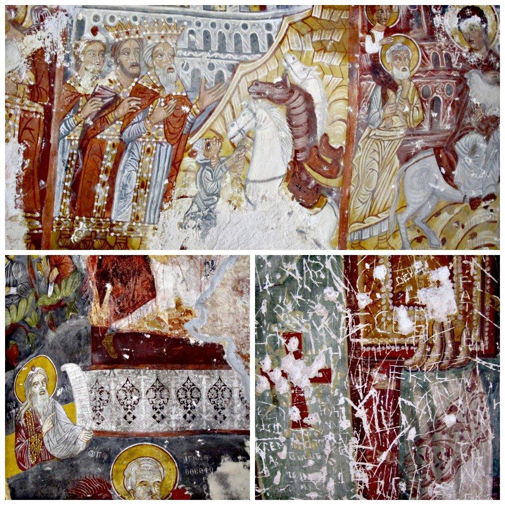 More Sumela Frescoes