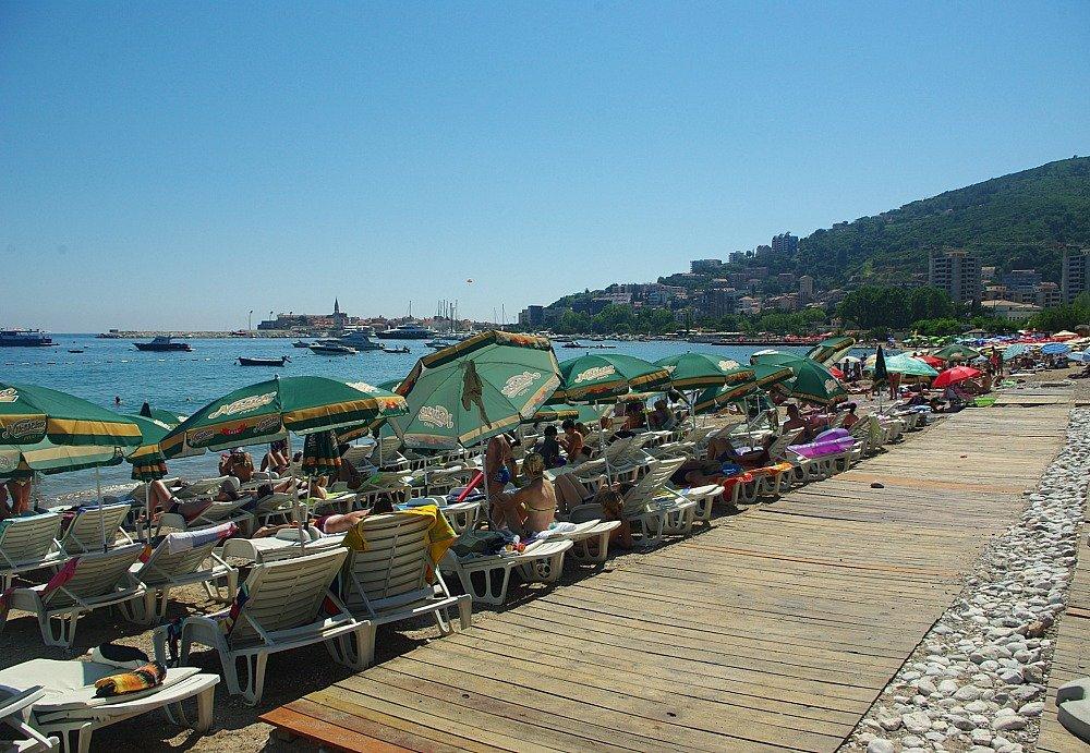 Budva Beach Umbrellas
