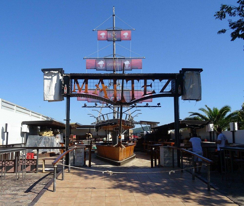 Budva Bar with Boat