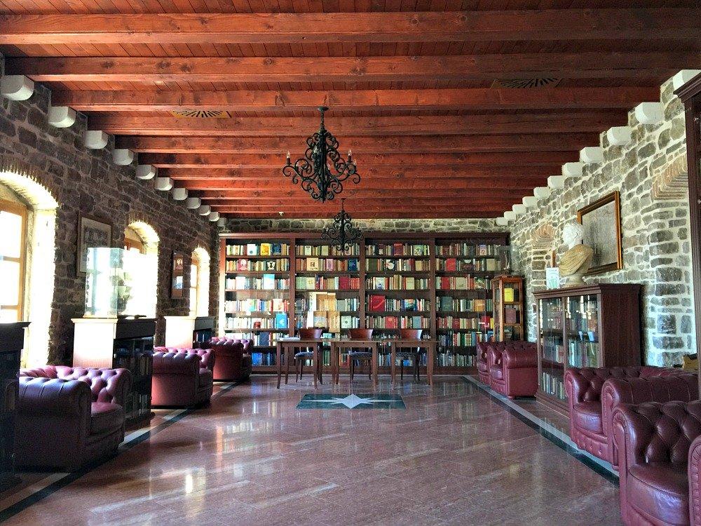 Budva Old Town Citadel Library