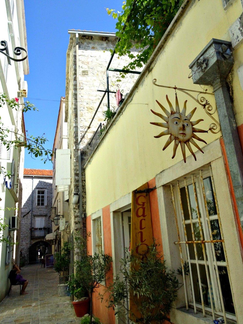 Budva Old Town Colour