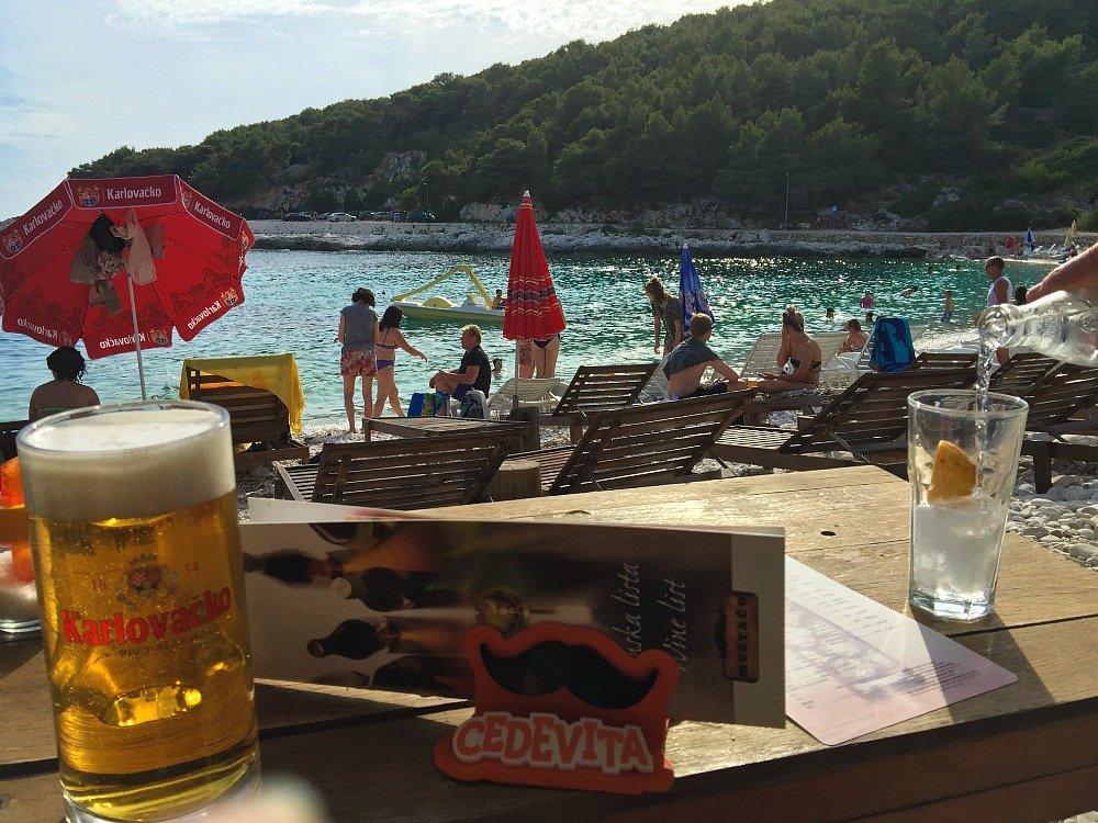 Hvar Pokonji Dol Beach Bar