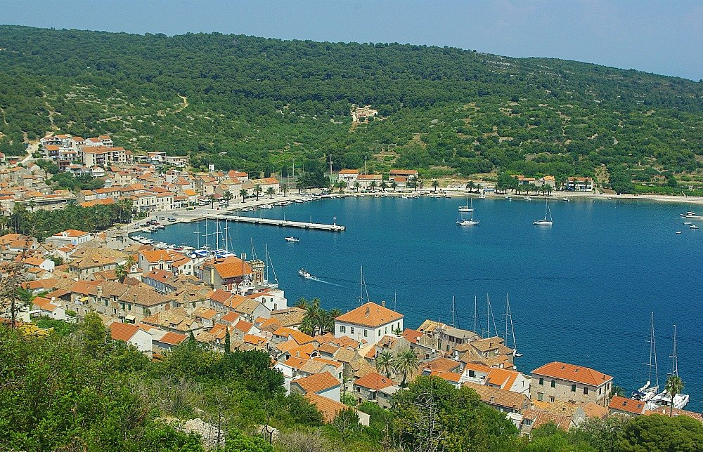 Luka - The Harbour - on Vis Island. Croatia's most far flung inhabited island, Vis is delightfully off the beaten path.