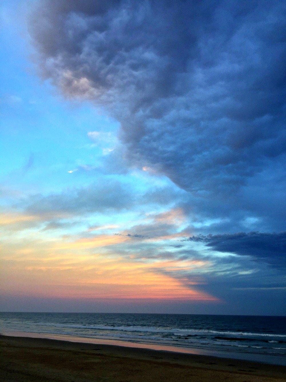 Coolum Beach Storm Clouds