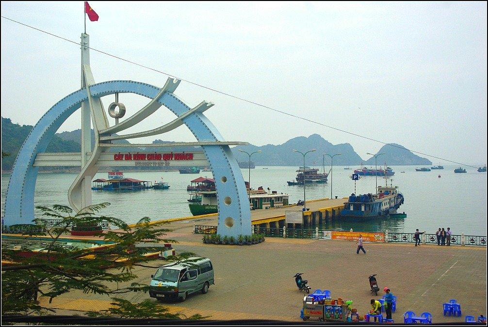 Cat Ba Island Jetty Vietnam