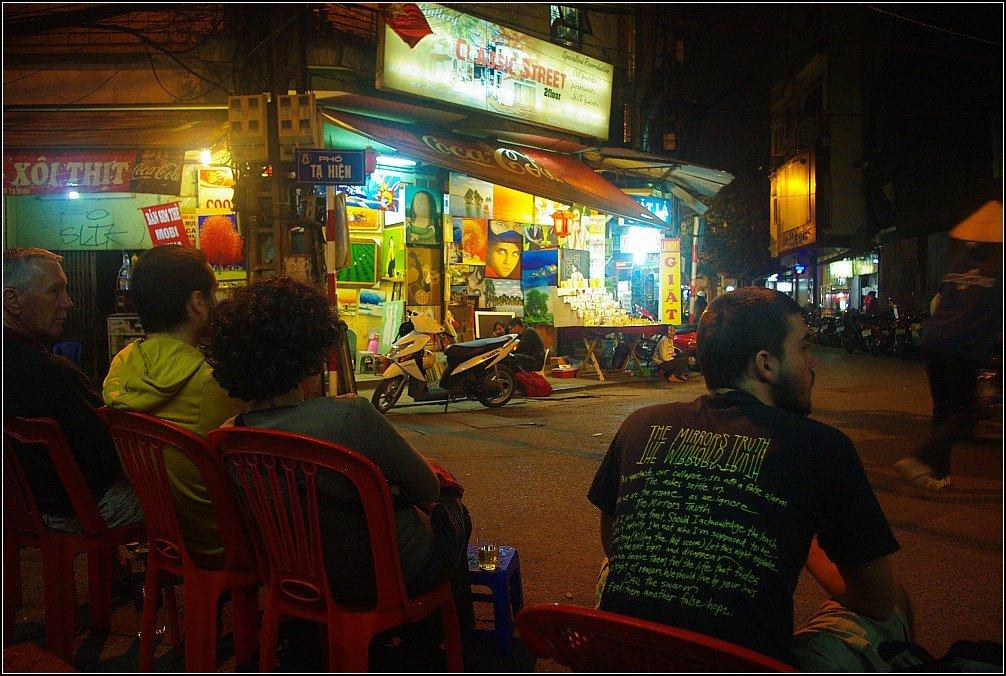 Beer Hoi Corner, Hanoi, Vietnam