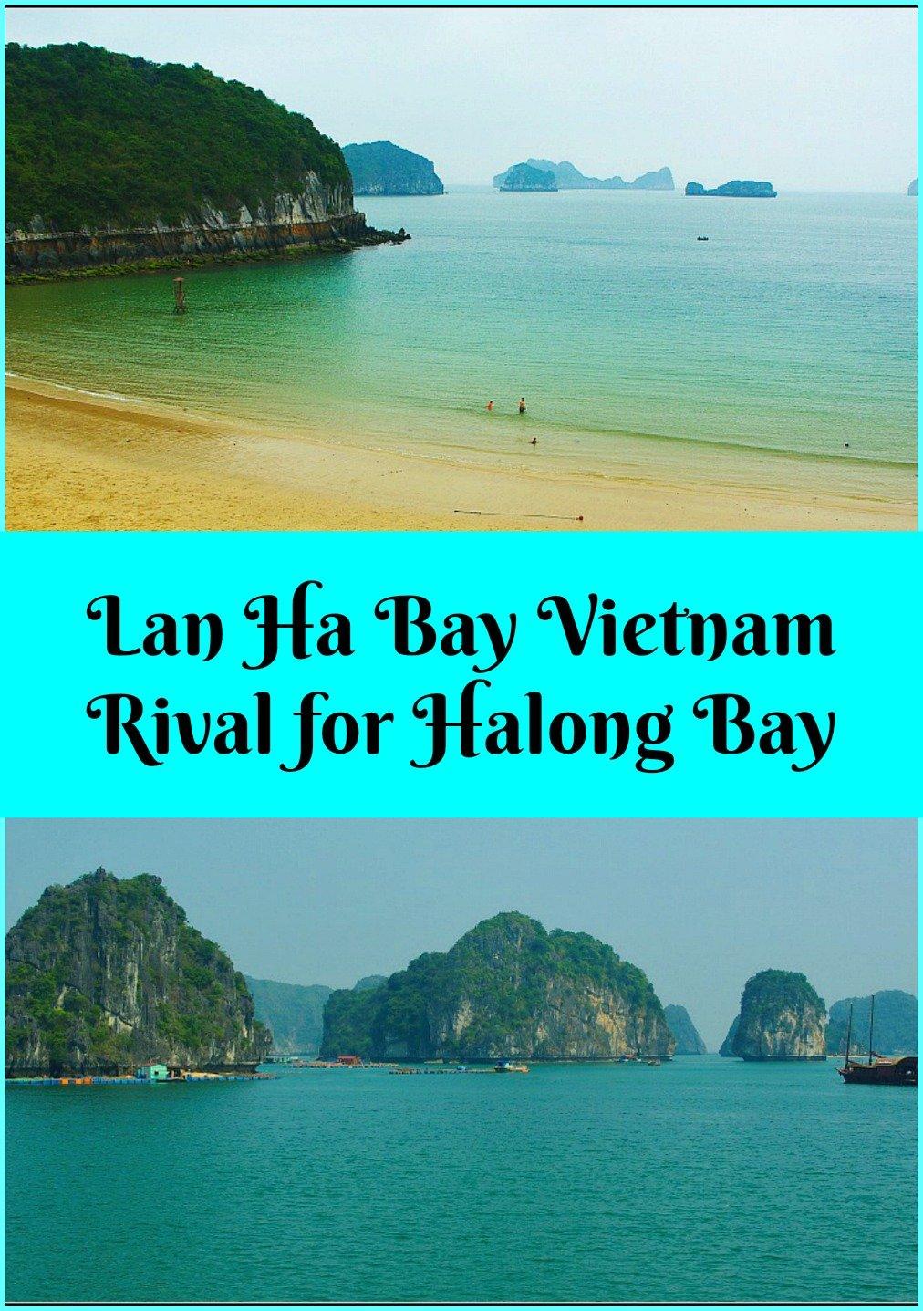 Lan Ha Bay Vietnam rival for Halong Bay