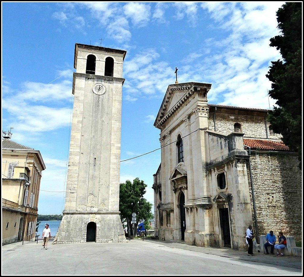 Pula Cathedral and Bell Tower 2