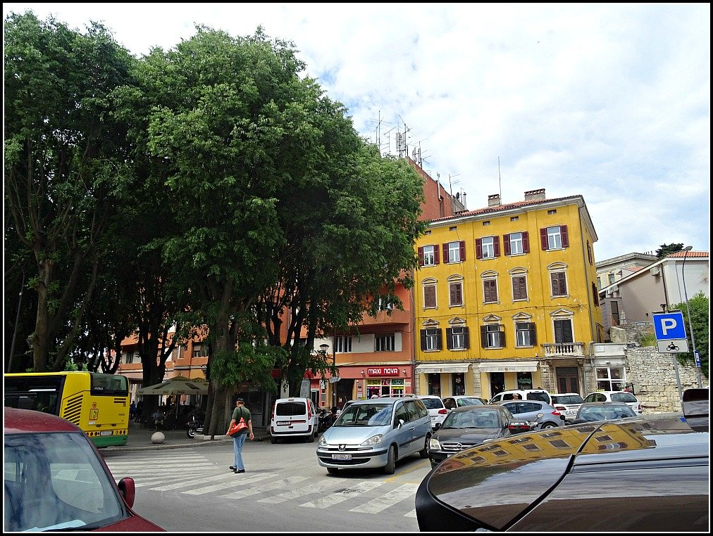 The Colourful Buildings of Pula