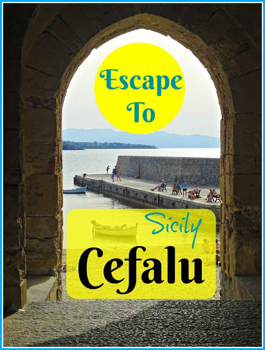Archway Cefalu Sicily