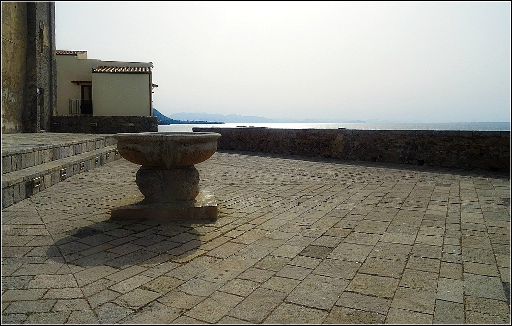 Bastione Capo Marchiofava Cefalu Sicily