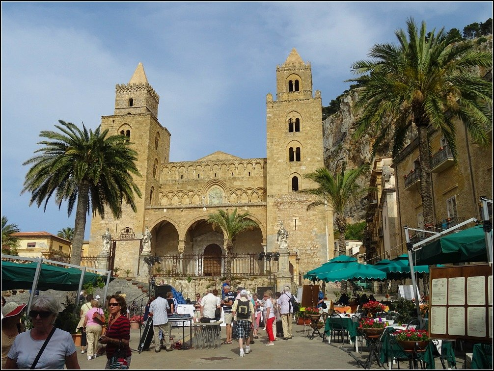 Duomo and Piazza, Cefalu Sicily