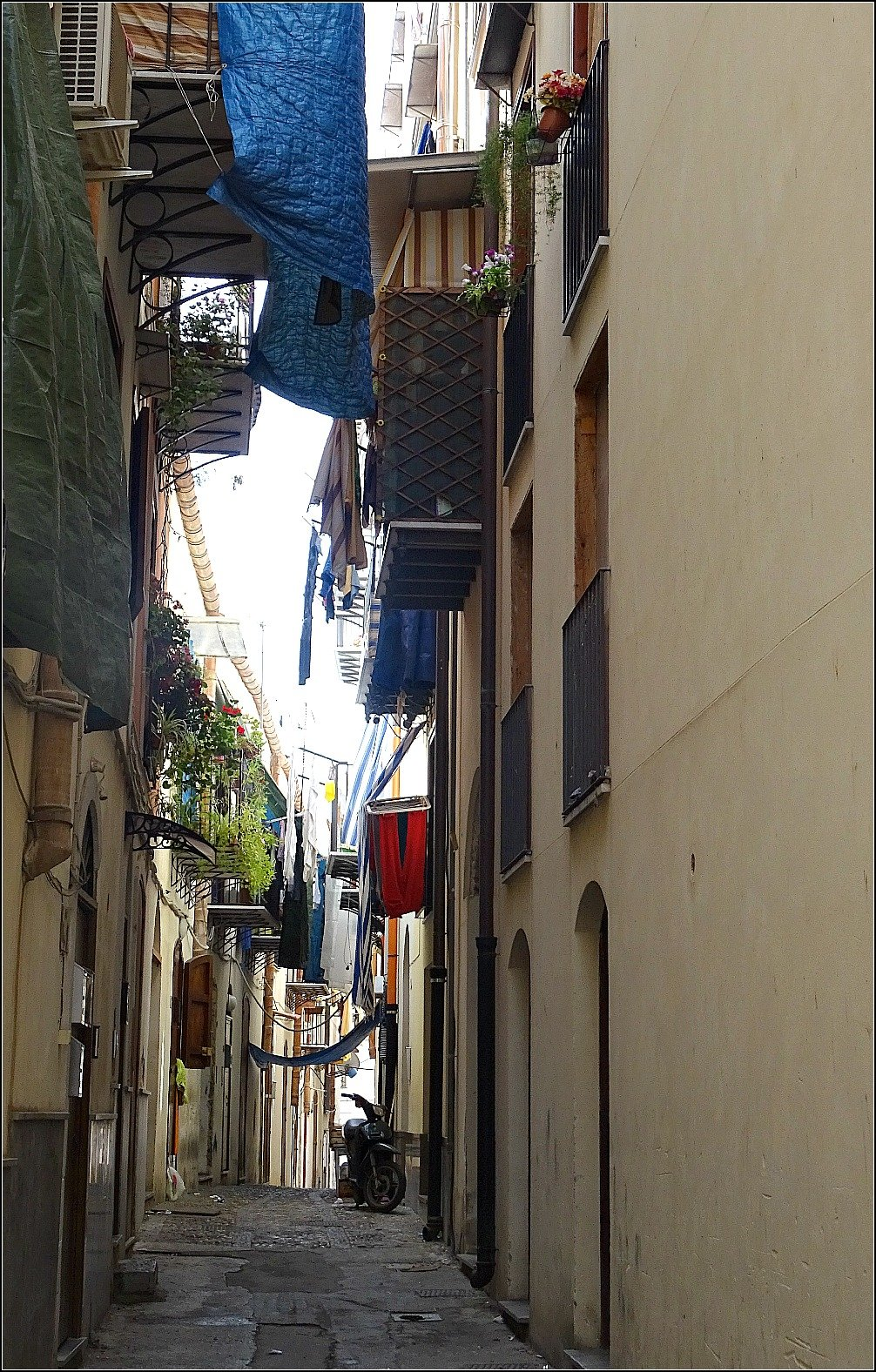 Palermo Market Side Street