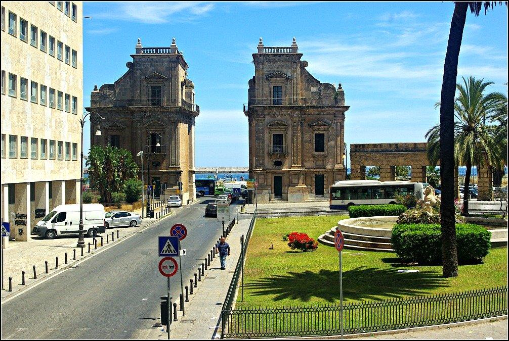 Porta Felice Palermo City Gate