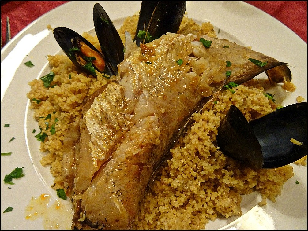 Trapani Fish and Couscous