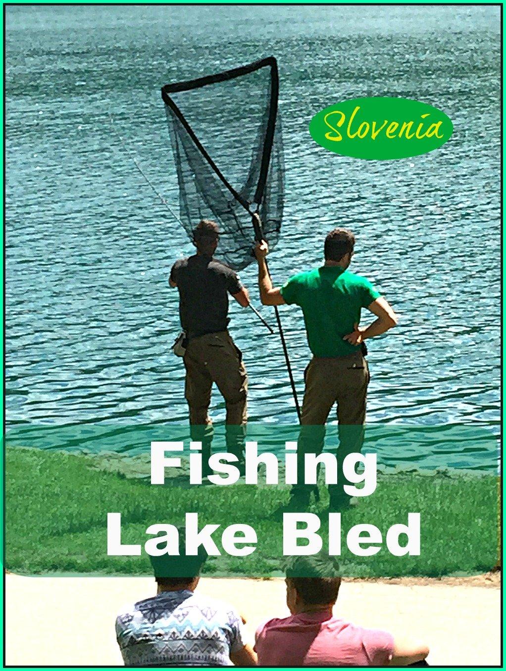 Fishing Lake Bled Slovenia
