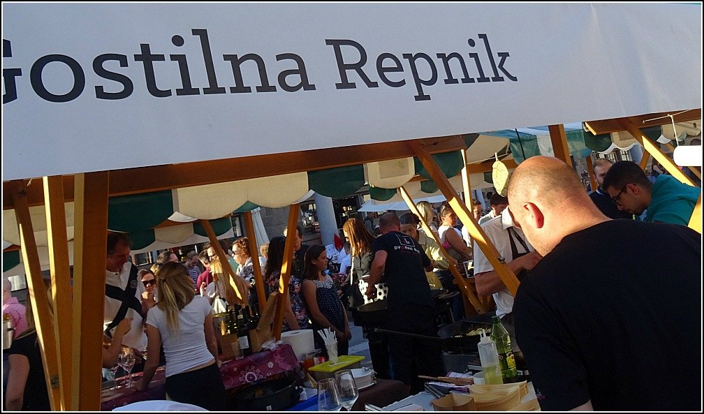 Ljubljana Friday Food Market