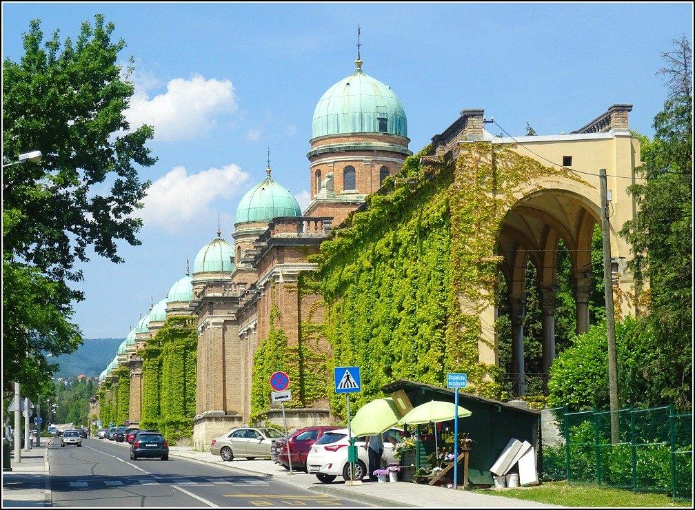 Mirogoj Cemetery Domes Zagreb