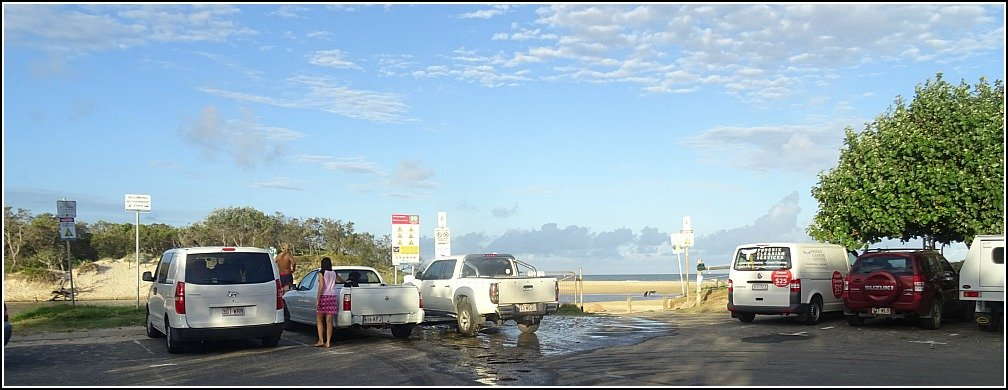 Stumers Carpark Coolum Beach