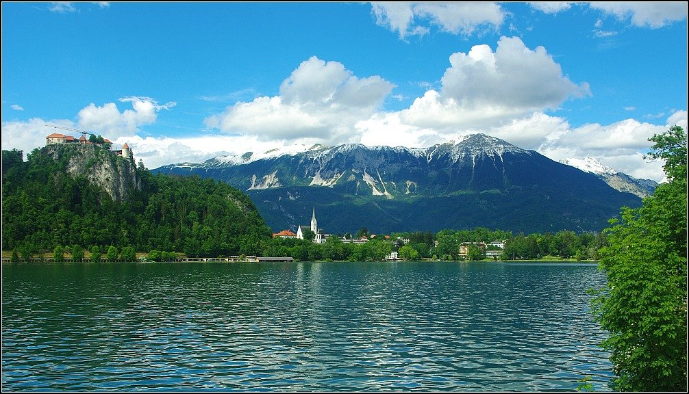 Bled Lake and Castle