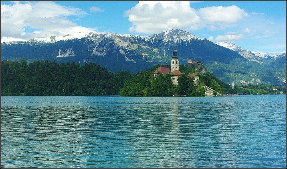 Triglav and Bled Island