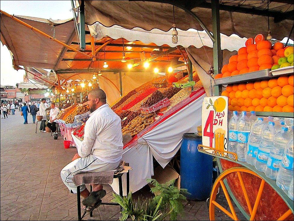 Marrakech Jemaa El Fna Stalls