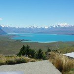 New Zealand South Island Lakes – Blue on Blue Lake Tekapo