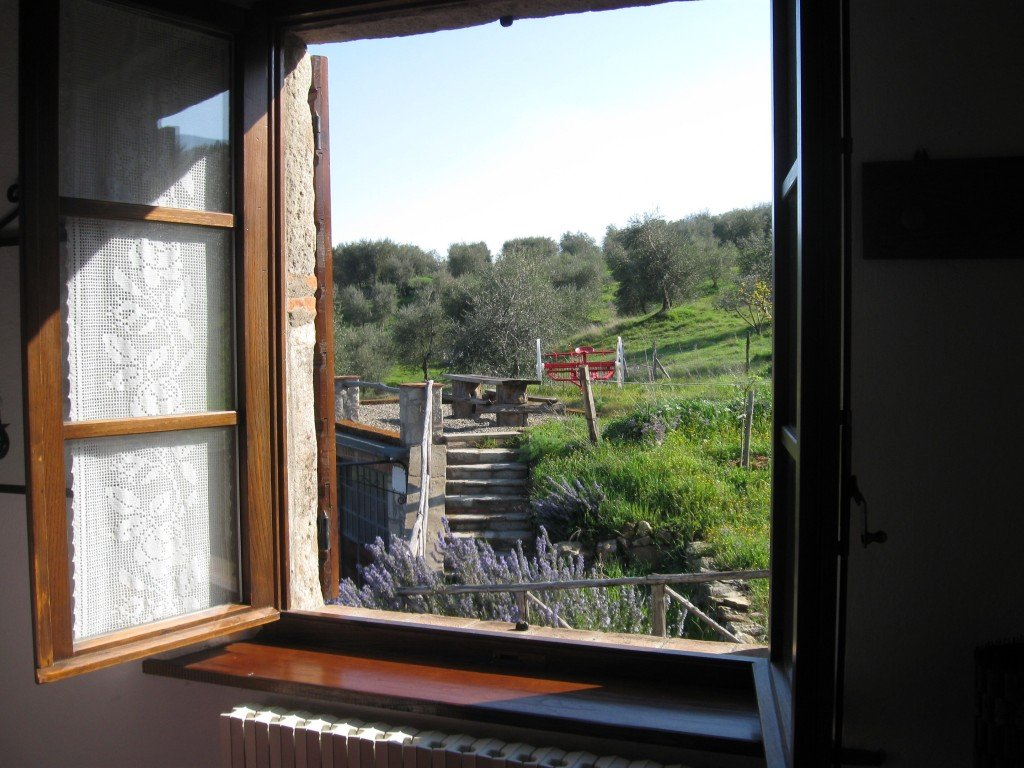 View from our tuscan farmhouse