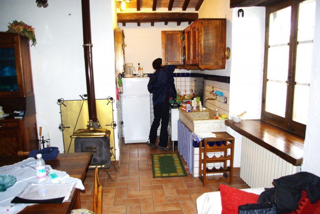 Our tuscan kitchen