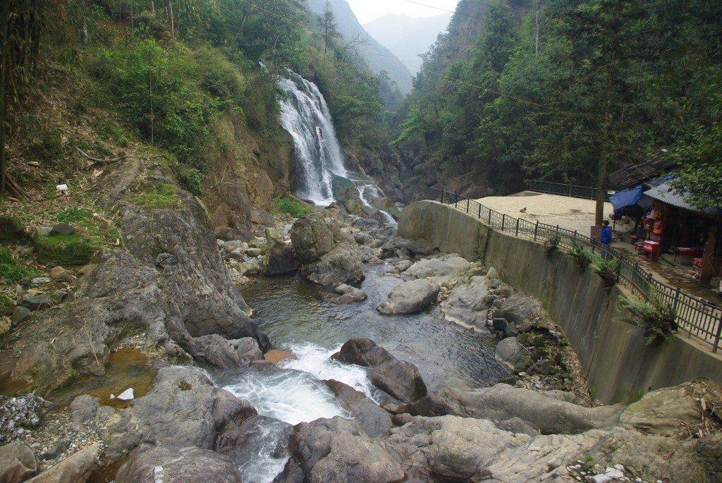Silver Waterfall - Cat Cat Village