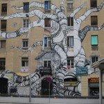 Squatter's Art In Barcelona