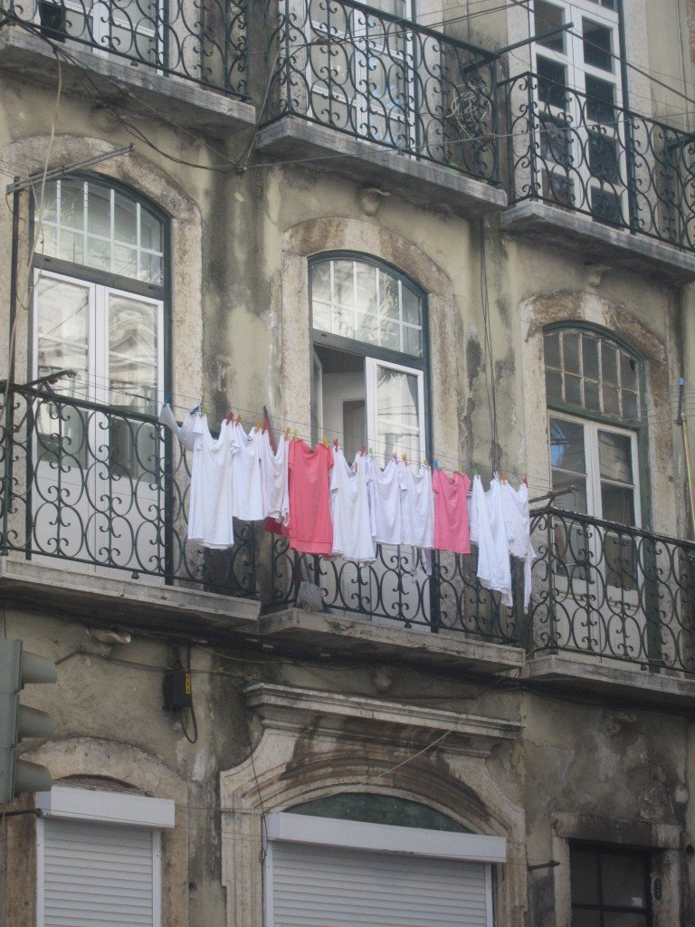 Laundry Day in Lisbon