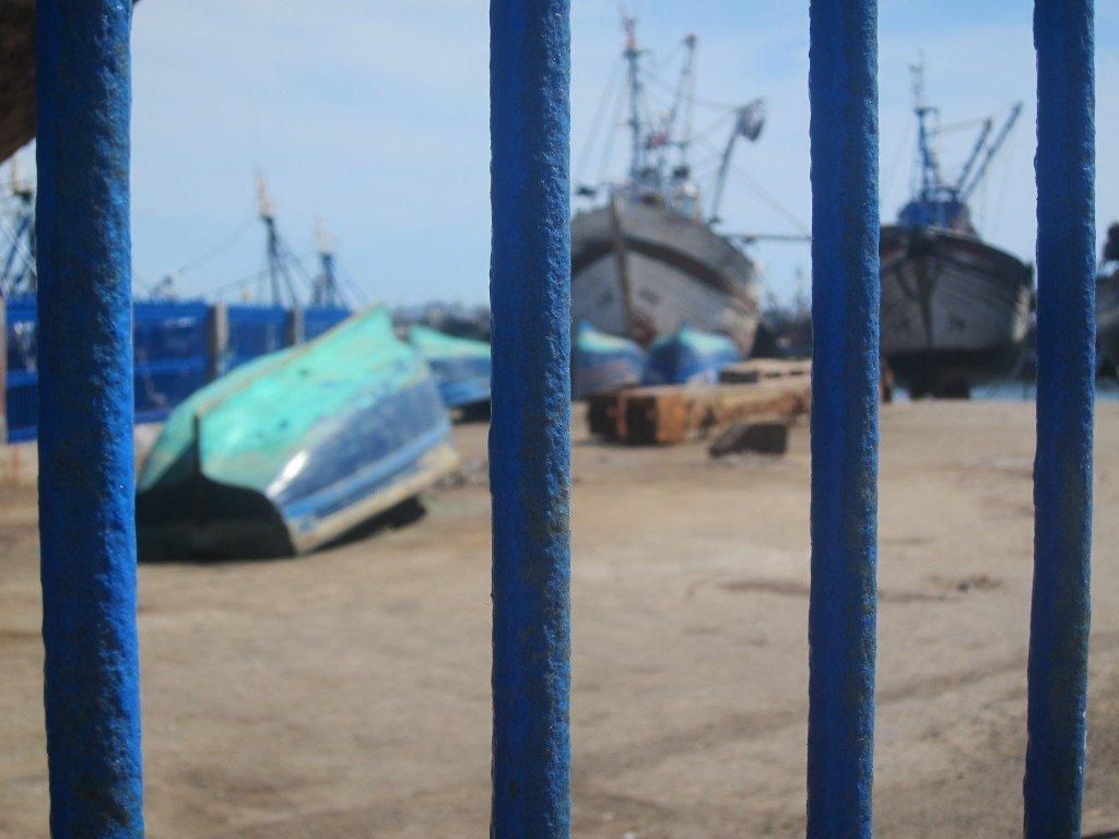 Blue Harbour Fence Essaouira