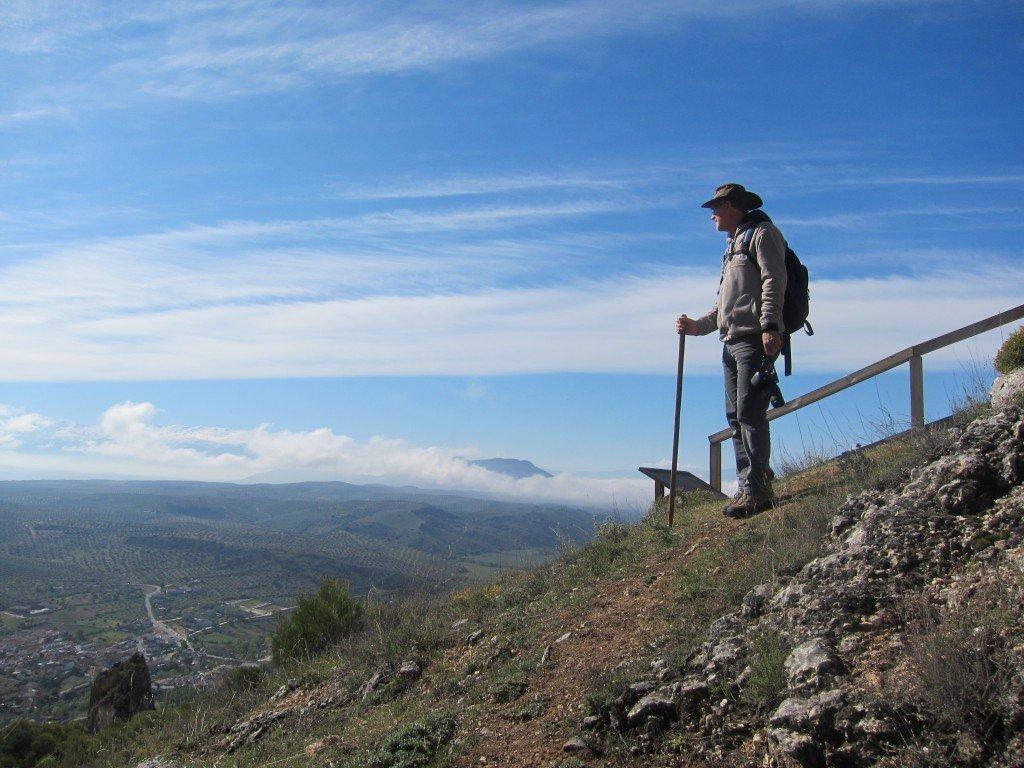 Marty looking toward Granada