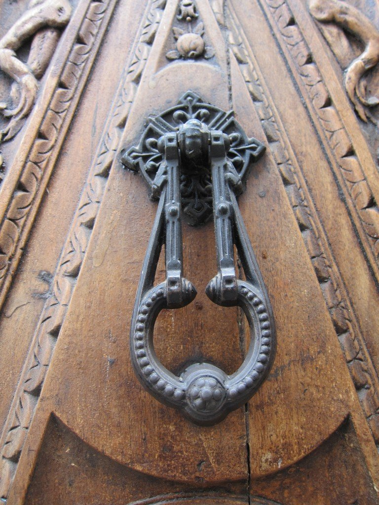 Albaicin, Granada, Door
