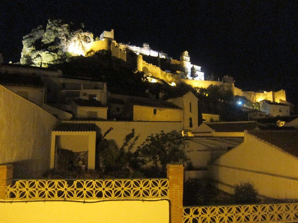 Spotlight on Moclin Castle
