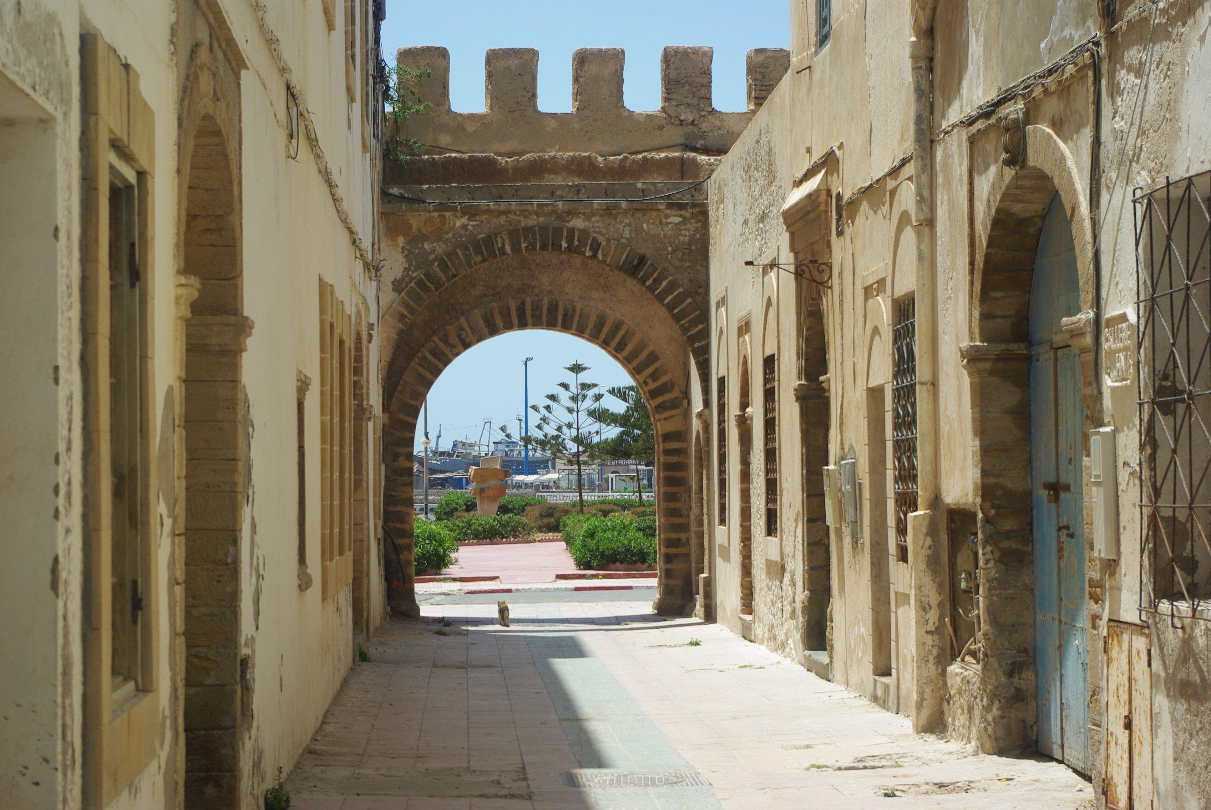 Fantastic Friday - Essaouira Port - Framed