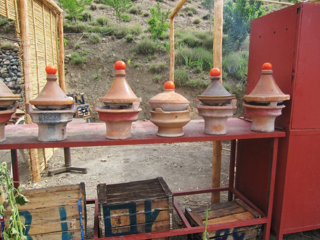 Roadside Tagines enroute from the Sahara to Marrakech
