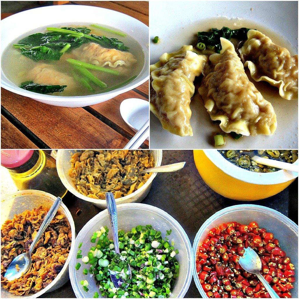 Singapore Dumpling Soup