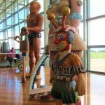 Otherworldy Travellers at Brisbane Airport