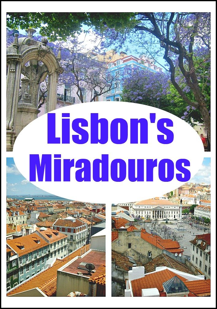 This post explores six different Lisbon miradouros, where and how to find them and their distinguishing features.