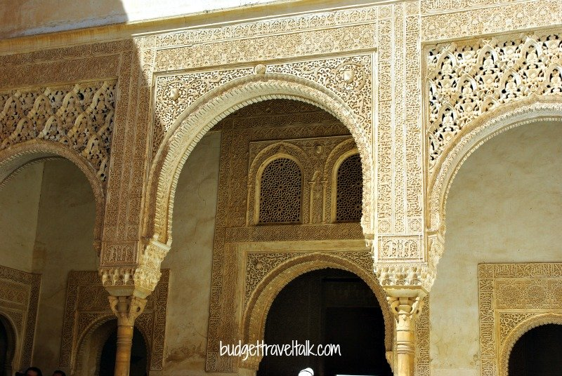 Alhambra Palace Archways