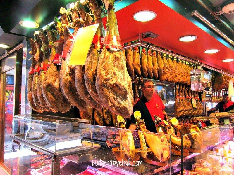 Iberico Ham La Boqueria